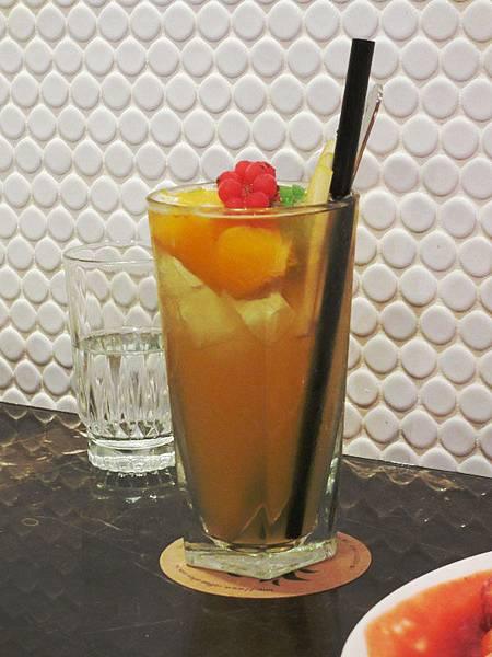 【咖啡弄】蜜桃冰茶