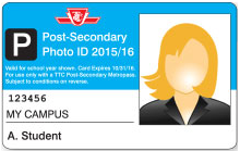 Post-Secondary TTC Photo ID