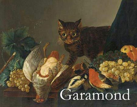 用貓咪來對應word的字型11