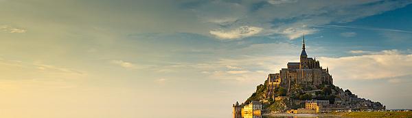法國的聖米歇爾山(Le Mont Saint Michel)