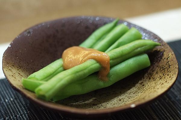 芝麻醬四季豆