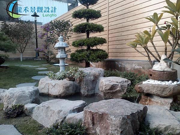 瀧禾 庭院造景 小水池
