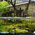 南門園區-小白宮 噴水池