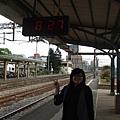 坐火車嚕~