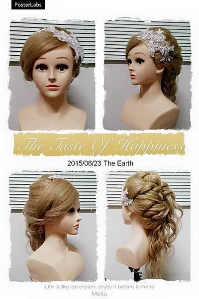 嘉義新娘祕書 髮型 0623
