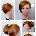 嘉義新娘祕書 髮型 0630