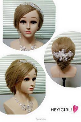 嘉義新娘祕書 浪漫低盤髮