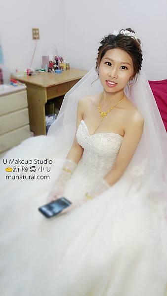嘉義新秘吳小u-嘉義新港月眉珮瑜結婚002.jpg