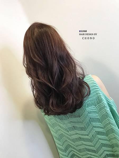 粉粉霧霧的咖啡色 秋季髮色  ~~~