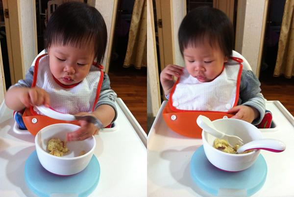 eating yummy