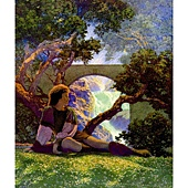 maxfield-parrish-the-knave-of-hearts-in-the-meadow