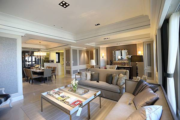 遠雄二代宅,開闊的開放式設計使人心曠神怡-中和左岸/中和建案-彩虹園