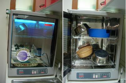 紫外線殺菌烘「狗」碗機