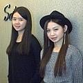 3月份LUXI新銳設計師  Lisa (左) 和 Joanna(右)
