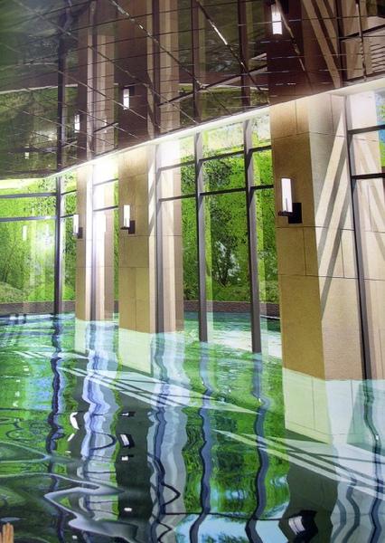 新川普游泳池