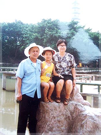 我和爺爺奶奶