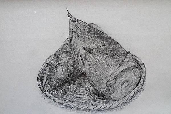 素描習作 竹筍