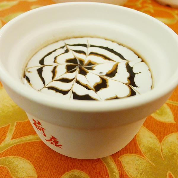 鳳荷三鮮:新竹_!oO0鳳荷三鮮0Oo!_中國風評價乾淨店,也能喝到拉花的紫米粥!?