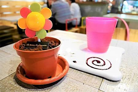 【台北圓山站 | 甜點】讓可愛的小花盆栽提拉米蘇帶給你好心情 ♪ 品台灣手作甜品 Is Taiwan Is Chocolate