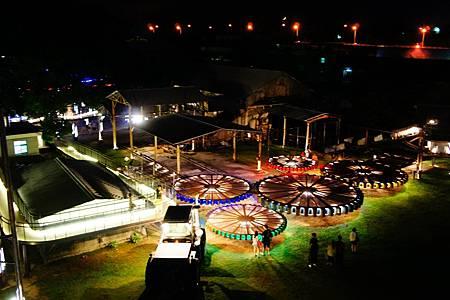 【台南仁德 | 景點】夜空下的糖罐遊樂場✦十鼓仁糖文創園區