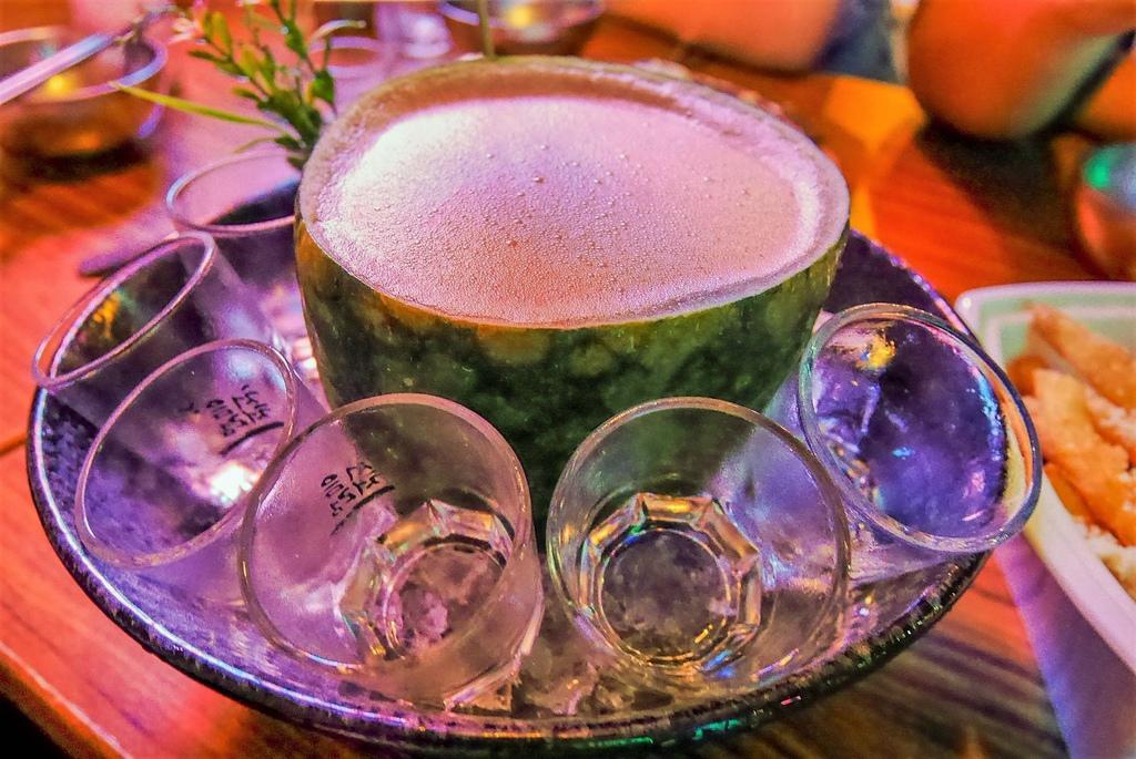 【團high】燒酒一杯 SojuHanjan ♥啵啵蝦 ♥西瓜燒酒調酒 ~我的生活.快樂提案