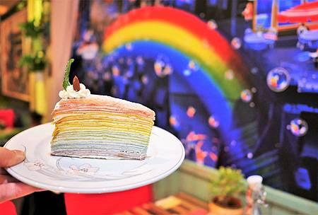 【台北芝山站 | 甜點】街邊的小法國♔Amin's Creperie 巴黎薄餅