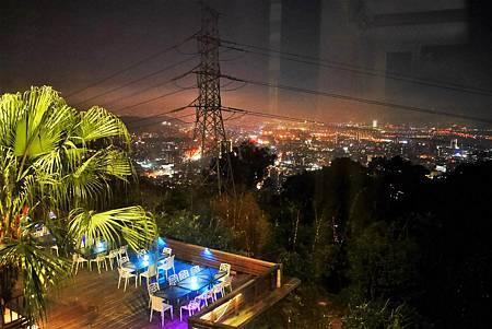 【台北陽明山 | 景觀餐廳】俯視大台北的華燈璀璨✦後花園景觀餐廳