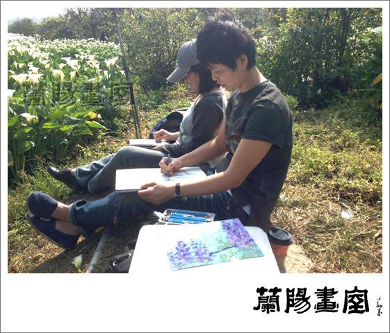 畫室部落格_201405_草山寫生_06