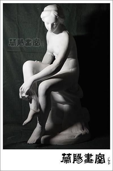 畫室部落格_石膏像檔案_法爾科的浴女01