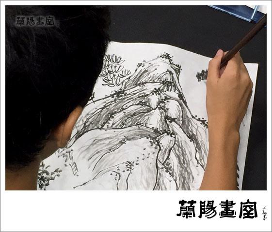 畫室部落格_201506_水墨書法班上課實況_05