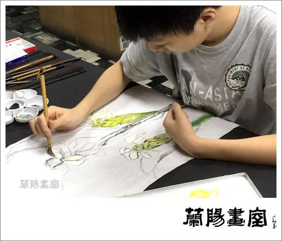 畫室部落格_201506_水墨書法班上課實況_04