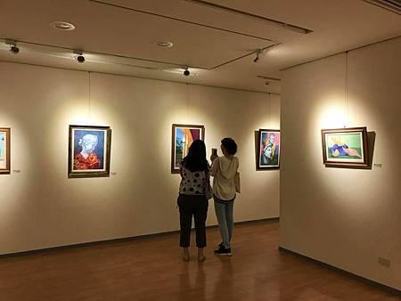 粉精彩-中華民國粉彩美術推廣協會聯展