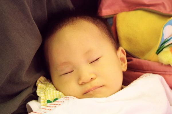 睡著的小天使晴