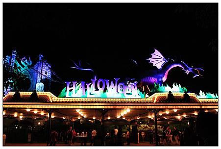 大門口的Halloween~