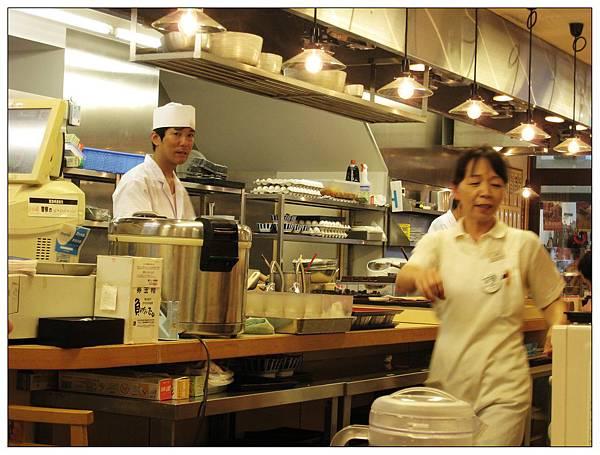 開放式的廚區