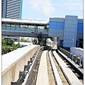 日本的地鐵也是有高架的