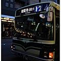 前往金閣寺的12號公車
