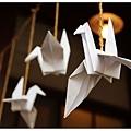小學內的紙鶴