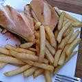 食】三明治漢堡