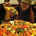 食】綠線第一站的pizza