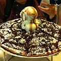 食】甜的pizza