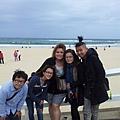 在海邊的合照!!