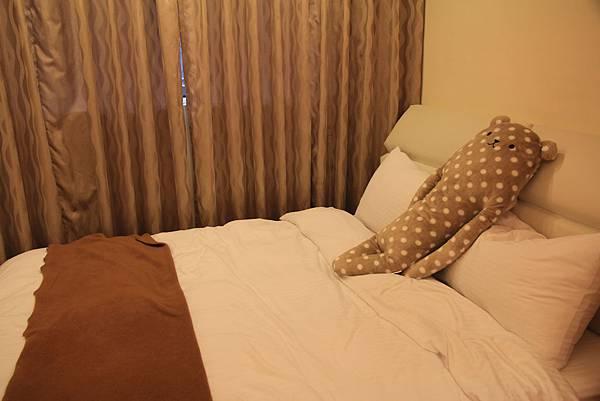 很舒服的床~