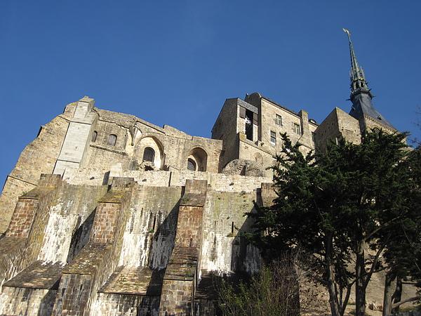 城堡的另一側