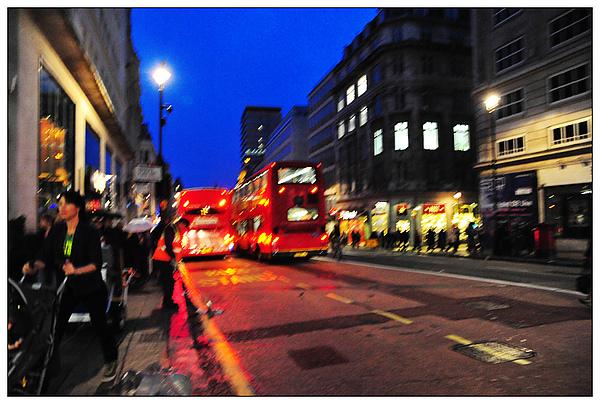 倫敦街頭,夜