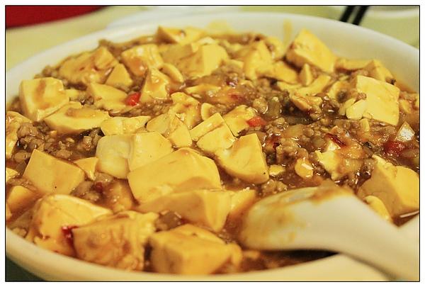 午餐,麻婆豆腐~