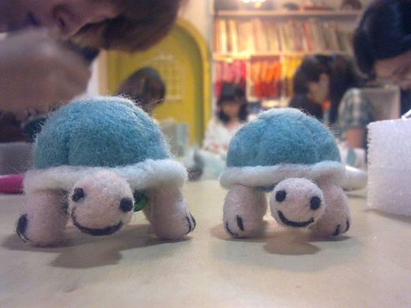 嗨~我們是小烏龜!!