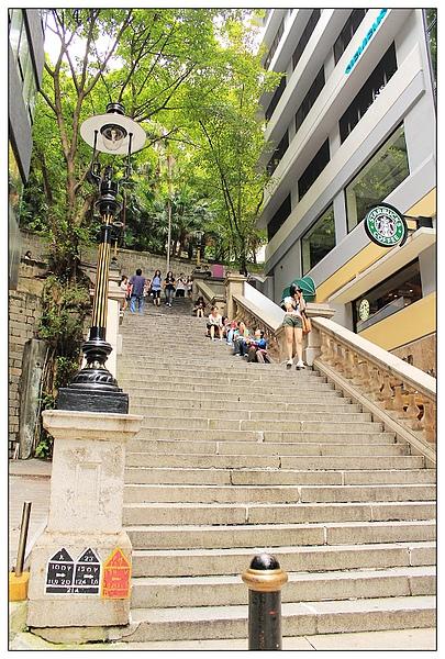 樓梯也是景點~