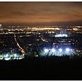 皇家山的夜景