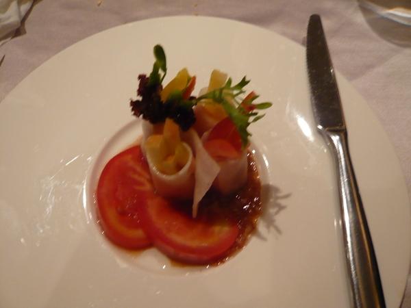 義式酒醋鮭魚捲